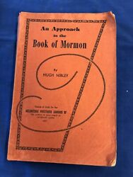 An Approach To The Book Of Mormon By Hugh Nibley 1957 Pb Priesthood Quorums