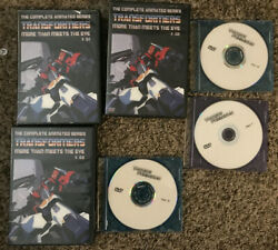 Transformers Complete Animated Series More Than Meets The Eye Vol 1-3 17 Dvd's