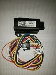 New Hamsar / New Flyer 12v 15a Solid State Turn Signal Flasher 43045 With Pigtai