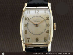 Universal Geneve Rectangular 10kgf Cal.231 Menand039s Vintage Watch 1950and039s 23mm