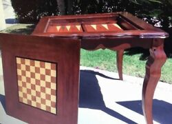Solid Wood Chess Table