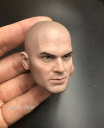 1/6 Scale Male Bald Head Sculpt For 12and039and039 Action Figure