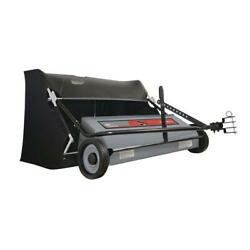 Ohio Steel Lawn Tractor Sweeper Spiral Brush Professional Grade 50 In 26 Cu Ft