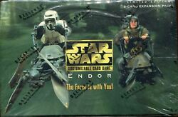 Star Wars Ccg Swccg Endor Factory Sealed Box Rare