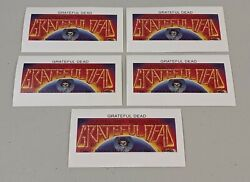 Stamp Pickers Tuva 1995 Grateful Dead 30th Imperf Souvenir Sheets X 100 Mnh