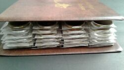 World Us Civil War Coin Collection Lot Album With 72 Coins And 72 Certificates