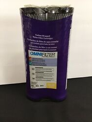 Omni Filter Clean Water Solutions 2-pack T01-ds Carbon Wrapped Filter Cartridges