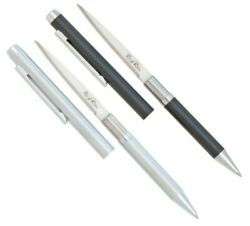 Rough Ryder Ink Pen Knife Black Cap W 2.25quot; Stainless Blade Inside RR612 613