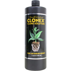 Growth Technology Clonex Clone Solution Rooting Seedling Cutting 32oz Bottle