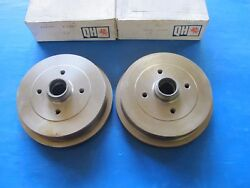 2 Drums Brake Rear Qh For Audi 80 Coupe Seat Cordoba