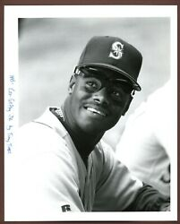 Ken Griffey Jr Seattle Mariners 1993 The Sporting News Collection Type 1 Photo
