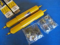 2 Shock Absorbers Front Gas Monroe Gas-magnum 4x4 For Land Rover Discovery