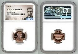 1992 S Lincoln Cent 1c Ngc Pf 70 Rd Ultra Cameo R6