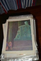 Lot Of 50 + Prints Occupations, Elementary School Posters, 1964-1967 Dcc Publ Co