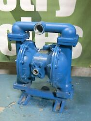 Sandpiper Air Operated Double Diaphragm Pump 1-1/2 Npt S15b1abwans000 Defective