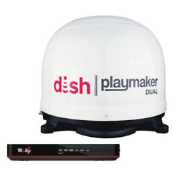 Winegard Pl8000r Dish Playmaker Dual Portable Automatic Satellite Antenna New