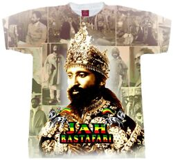 Jah Rastafari T-shirt.collage . Menand039s Youth And Ladies Fitted Tees.