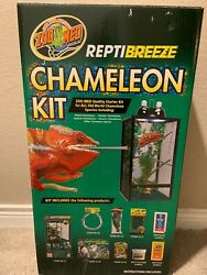 Zoo Med ReptiBreeze Chameleon Kit Used Consumable Products not Included
