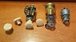 Headlight Head Light Switch W/4 Positions And Marine Ignition And Hd Start Button