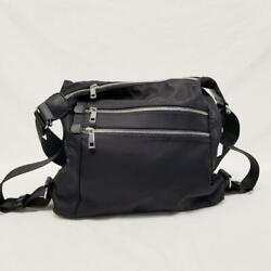 Sondra Roberts Black Adjustable Convertible Satchel Backpack Shoulder Bag $34.00