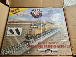 Overland O Gauge Freight Express Set Union Pacific Sd70 4980 Sealed In The Box