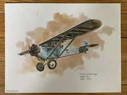 Ryan M-1 1926-1927 United Airlines 1976 Collector Print Nixon Galloway