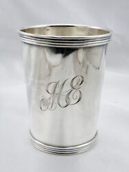 Vintage International Silver Solid Sterling Silver Mint Julep Cup W/mono