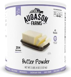 Augason Farms Butter Powder 10 Can Baking Mre Survival Emergency 10yr Meal Food