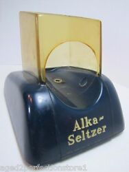 Alka-seltzer Old Pharmacy Drug Store Display Prop Of Miles Lab Elkhart Indiana