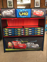 6 Bin Toy Storage Organizer Disney Pixar Cars