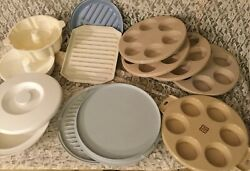 12 Pc. Littonware, Anchor Hocking, Nordic Ware And More Microwave Cookware Pans