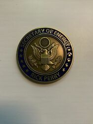 Rick Perry Secretary Of Energy Challenge Coin