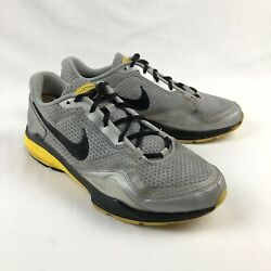 Nike Air Miler Lunarlon Lance Armstrong Livestrong Mens 12 Gray Athletic Shoes