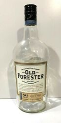 Empty Old Forester 86 Proof Bourbon Whiskey Bottle , 1.75l