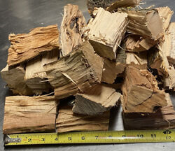Apple Wood Chunks For Smoking Bbq Grilling Cooking Smoker Free Shipping10 +lbs