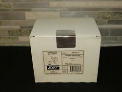 New Est Edwards 757-3a-t Temporal Fire Alarm Horn Strobe Red