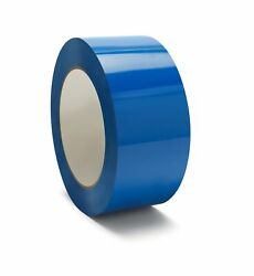 48mm X 50m Blue Color Carton Sealing Packaging Packing Tape 2 Mil 1368 Rolls