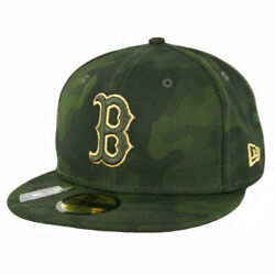 New Era 5950 Boston Red Sox quot;Armed Forces Memorial Dayquot; Fitted Hat CAM Cap