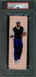 1997 Awesome Athletes Tiger Woods Book Marks Rookie Card Graded Psa 10 Gem Mint