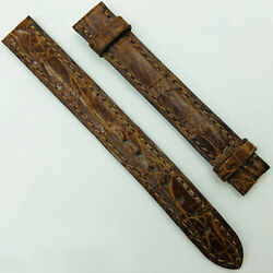 13mm Light Brown Leather Strap For Buckle 8a03occm