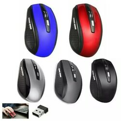 2.4GHz Wireless Optical Mouse Mice amp; USB Receiver For PC Laptop Computer DPI USA $5.39