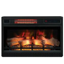Classic Flame Infrared Electric Fireplace Insert Ventless Heater Safer Plug 26