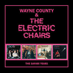 Wayne County And The Electric Chairs - Safari Years [new Cd] Uk - Import