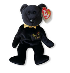 Ty Beanie Baby The End Bear - Retired With Errors - 1999