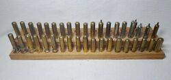 Large Collection Of 39 Vintage Brass Valve Stem Dust Caps Model A And T