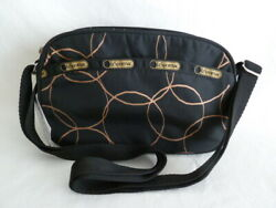 LeSportsac Classic Parker Crossbody Gold Links New NWT $46.95
