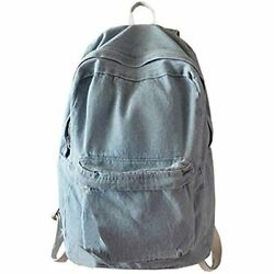 College School Backpacks Girls Denim Student Laptop For Teenage Computers amp;amp $41.61