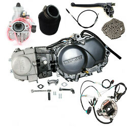 Lifan 125cc Engine Motor For Crf50 Atc70 Ct70 Ssr Coolster Honda Apollo Pit Bike