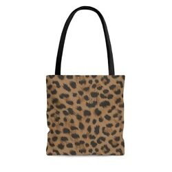 Tote Bags Boho Dark Leopard Bags and Purses for Women Totes for Women $21.00
