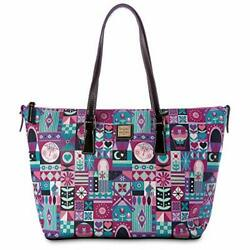 Disney Parks ''it's A Small World'' Shopper Tote Purse By Dooney And Bourke